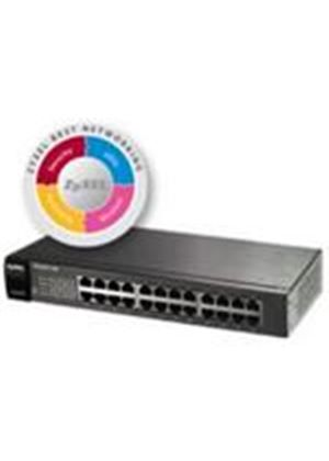 ZyXEL ES1100-24E 24 Port 10/100 Unmanaged Desktop Switch
