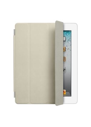 Apple Leather Smart Cover for iPad 2 (Cream)