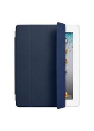 Apple Leather Smart Cover for iPad 2 (Navy)