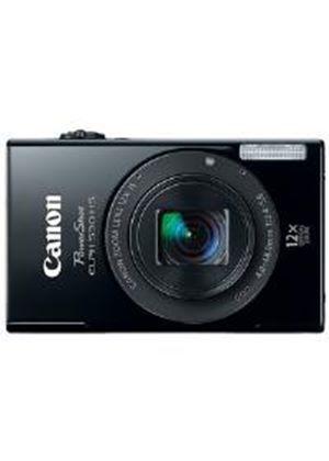 Canon IXUS 510 HS Digital Camera 10.1MP 12x Optical Zoom 3.2 inch LCD (Black)