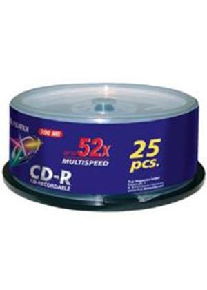 Fujifilm CD-R 700MB 52X Spindle (25 Pack)