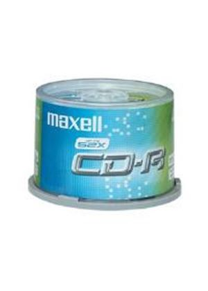Maxell CD-R 80 XL 700MB 80 Minute 52x Speed Spindle (50 Pack) - Retail Spindle