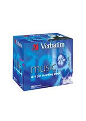 Verbatim CD-R 16x 80min Audio (Live It) - 10 Pack