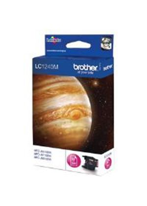 Brother LC-1240M Magenta (Yield 600 Pages) Ink Cartridge