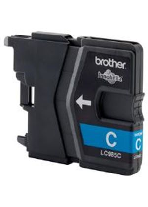 Brother LC985C Cyan (Yield 260 Pages) Inkjet Cartridge