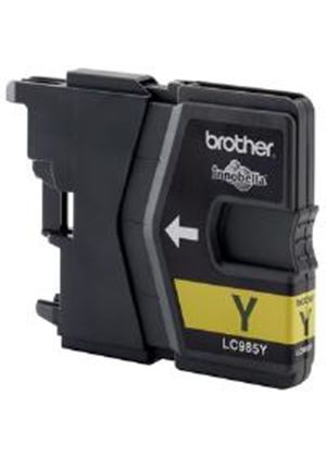 Brother LC985Y Yellow (Yield 260 Pages) Inkjet Cartridge