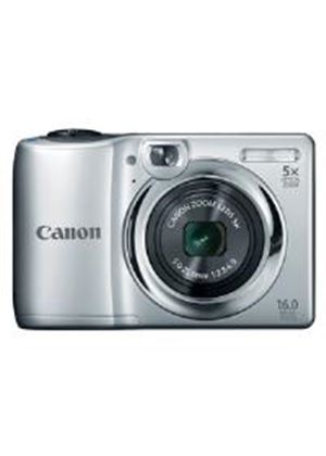 Canon PowerShot A1300 Digital Camera 16MP 5x Optical Zoom 2.7 inch LCD (Sliver)