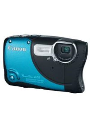 Canon PowerShot D20 Waterproof Digital Camera 12.1MP 5x Optical Zoom 3 inch LCD (Blue)