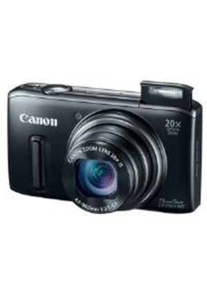 Canon PowerShot SX260 HS Digital Camera 12.1MP 20x Optical Zoom with 3.0 inch LCD Monitor (Black)