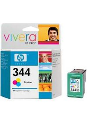 HP No.344 Tri-Colour Inkjet Print Cartridge 14ml (Yield 450 Pages)