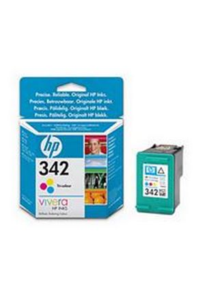 HP No.342 (Yield 175 Pages) Tri-Colour Inkjet Print Cartridge (5ml)