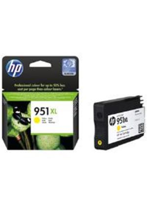 HP 951XL Yellow Ink Cartridge (Yield 1500 Pages) for HP Officejet Pro 8100 ePrinter Series/HP Officejet Pro 8600 e-All-in-One Series