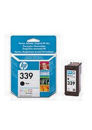 HP No.339 (Yield 800 Pages) Black Inkjet Print Cartridge (21ml)