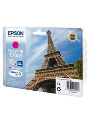 Epson T7023 (Yield 2,000 Pages) Magenta High Capacity Ink Cartridge for Epson Workforce Pro 4000 Series Printers