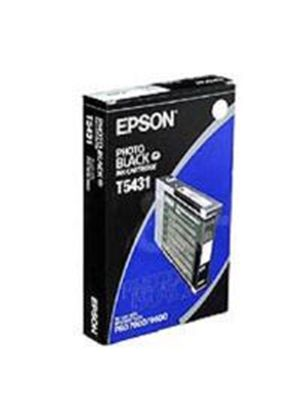 Epson T5431 Ink Cartridge - 110ml (Photo Black) for Epson Stylus Photo 7600