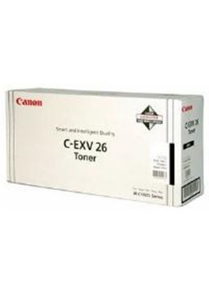 Canon C-EXV26 Black Toner Cartridge (Yield 6,000 pages)