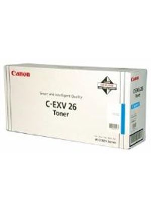 Canon C-EXV26 Cyan Toner Cartridge (Yield 6,000 pages)