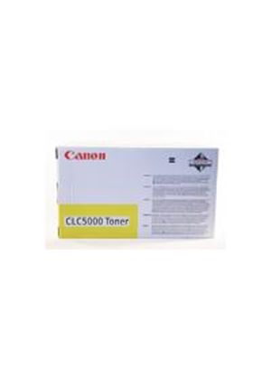 Canon CLC500 Yellow Toner Cartridge (Yield 6,700 Pages)