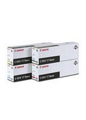 Canon C-EXV17 Cyan Toner Cartridge (Yield 30,000 Pages)