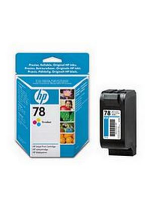 HP No.78 Tri-Colour Ink Cartridge (Yellow/Magenta/Cyan)