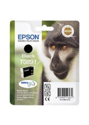 Epson T0891 Black Ink Cartridge for Stylus S20/SX100/SX105