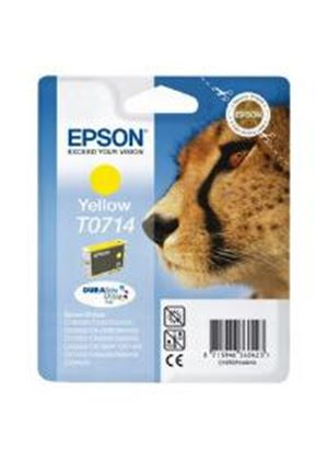 Epson T0714 Yellow Ink Cartridge (Yield 460 Pages)