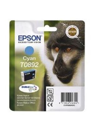 Epson T0892 Cyan Ink Cartridge for Stylus S20/SX100/SX105