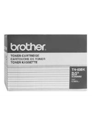 Brother TN-03BK Black Toner Cartridge (Yield 12,000 pages) for HL-2600CN