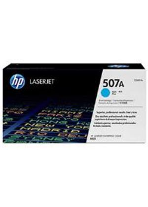 HP 507A Cyan Toner Cartridge (Yield 6000 Pages) for LaserJet Enterprise M551 Series Colour Laser Printers