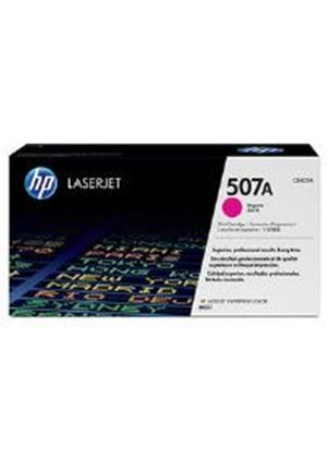 HP 507A Magenta Toner Cartridge (Yield 6000 Pages) for LaserJet Enterprise M551 Series Colour Laser Printers