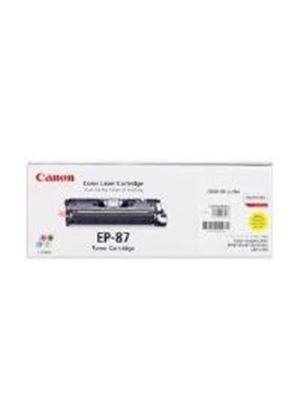 Canon EP-87 Yellow Toner Cartridge (Yield 5,000 Pages)