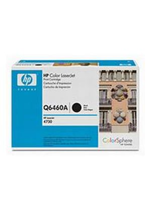 HP Colour LaserJet Black Print Cartridge (Yield 12,000 Pages) with ColorSphere Toner for the Colour LaserJet 4730mfp