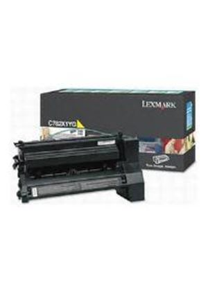 Lexmark Yellow Extra High Yield Return Program Print Cartridge (Yield 15,000 Pages) for C782 Colour Laser Printers