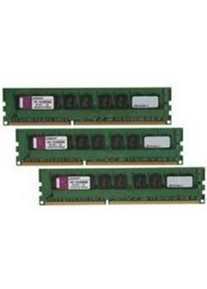 Kingston 6GB (3x2GB) Memory Module 1333MHz ECC Single Rank Kit