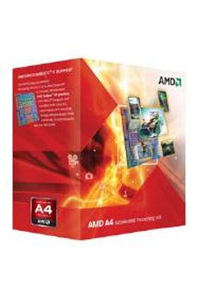 AMD A4 Series Dual Core (A4-3300) 2.5GHz Accelerated Processor Unit (APU) 1MB with Radeon HD 6410D Graphic Card