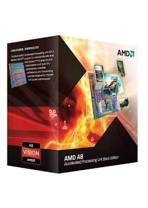 AMD A8 Series Quad Core (A8-3870K) 3.0GHz Accelerated Processor Unit (APU) 4MB with Radeon HD 6550D Graphics - PIB