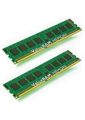 Kingston ValueRAM 4GB (2x2GB) DDR3 1333MHz Non-ECC 240-pin DIMM Memory Module