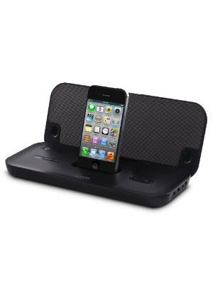 TDK TAC3521 App-Enhanced Rechargeable Travel Speaker (Black) for iPod/iPhone