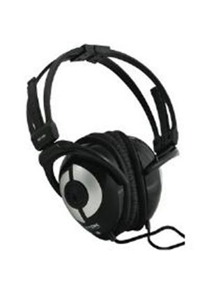 TDK NC-150 Light Weight Active Noise Cancelling Foldable Headphones (Black)