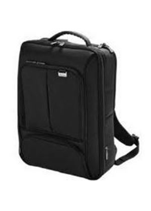 Dicota BacPac Traveler Backpack (Black) for 15 inch to 17.3 inch Notebook