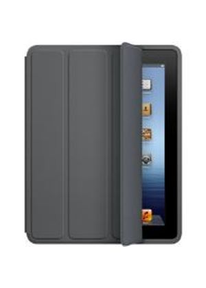 Apple Polyurethane Smart Case for iPad 2/3 (Dark Grey)