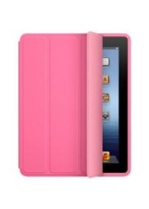 Apple Polyurethane Smart Case for iPad 2/3 (Pink)