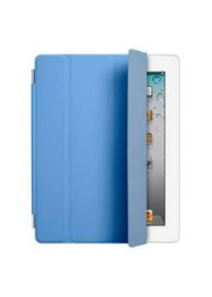 Apple Polyurethane Smart Cover for iPad 2 (Blue)