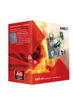 AMD A6 Series Dual Core (A6-5400K) 3.6GHz Accelerated Processor Unit (APU) 2x512MB with Radeon HD 7540D Graphic Card