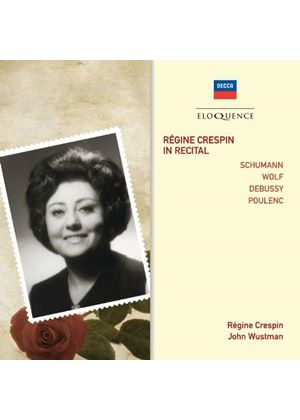 Regine Crespin in Recital (Music CD)