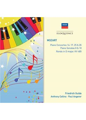 Mozart: Piano Concertos Nos. 14, 17, 25 & 26 (Music CD)