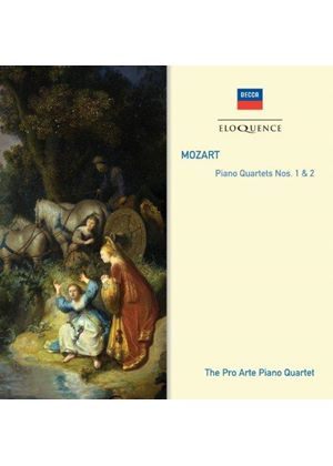 Mozart: Piano Quartets Nos. 1 & 2 (Music CD)