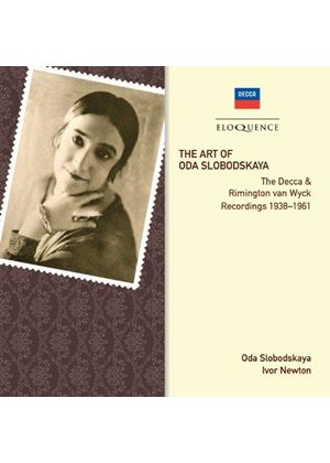 Art of Oda Slobodskaya (Music CD)