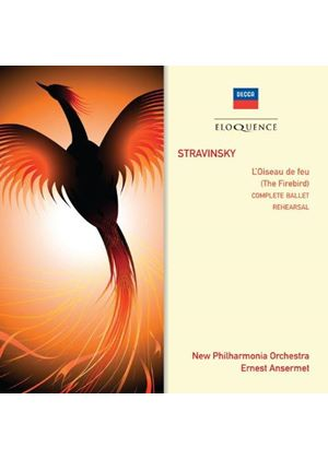 Stravinsky: The Firebird - Performance & Rehearsal (Music CD)