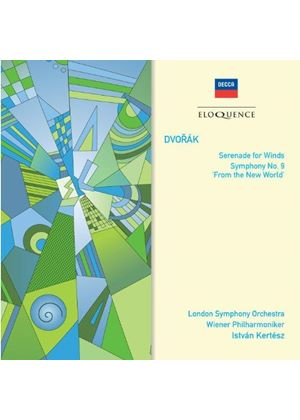 Dvorák: Serenade for Winds; Symphony No. 9 'From the New World' (Music CD)